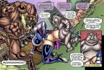 1girl bestiality breasts comic nipples penis sex superheroine susan_steel