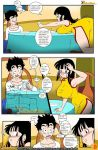 1girl breasts chichi comic dragon_ball dragon_ball_z drah_navlag nipples son_goten vercomicsporno