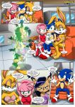 amy_rose bunnie_rabbot comic mobius_unleashed nicole_the_lynx palcomix sega sonic_(series) sonic_and_sally_break_up_(comic) sonic_the_hedgehog tagme