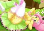 1girl equestria_girls equestria_untamed fluttershy my_little_pony palcomix vagina