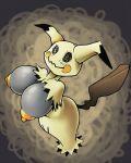 1girl anthro big_breasts female mimikyu pokemon pokemon_sm sexy torn_clothes