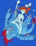 cum cum_in_pussy cum_inside feraligatr interspecies kasumi_(pokemon) misty pokemon tagme underwater water