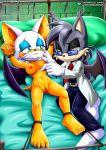 furry mobius_unleashed palcomix rouge_the_bat sega sonic_(series)
