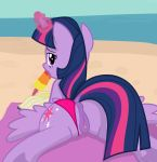 1girl 2017 alicorn animal_genitalia animal_pussy animated animated_gif anus ass beach bedroom_eyes book clitoral_winking clitoris clothing cutie_mark dock equine equine_pussy feathered_wings feathers feral food friendship_is_magic gif hair half-closed_eyes high_res horn licking looking_at_viewer looking_back magic mammal multicolored_hair my_little_pony outside panties panties_aside popsicle purple_eyes purple_feathers pussy seaside seductive shutterflyeqd sky spread_legs spreading tail tongue tongue_out twilight_sparkle_(mlp) underwear underwear_aside water winged_unicorn wings