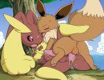 eevee pokemon pokemon_(anime) yaoi