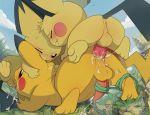 pichu pikachu pokemon pokemon_(anime) yaoi