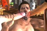 3d capcom cum cum_in_mouth drinking_cum eating_cum penis resident_evil resident_evil_5 yaoi