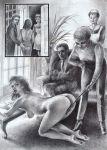 black_and_white fetish otk over_the_knee spank spanked spanking