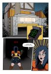 blue_hair comic ghostbusters goth kylie_griffin warehouse