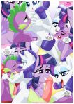 equestria_untamed palcomix rainbow_dash's_game_of_extreme_pda rarity_(mlp) spike_(mlp) text twilight_sparkle_(mlp)