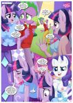 equestriauntamed palcomix rainbow_dash's_game_of_extreme_pda rarity_(mlp) spike_(mlp) text twilight_sparkle_(mlp)