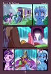 1boy 2girls comic cutie_mark discord discord_(mlp) draconequus erection fearingfun female_unicorn friendship_is_magic horn my_little_pony penis pony starlight_glimmer starlight_glimmer_(mlp) tail trixie trixie_(mlp) unicorn wings