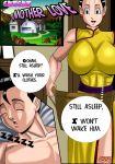 1boy 1girl breasts chichi comic cssp dragon_ball dragon_ball_z milf son_gohan
