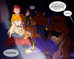 ass bestiality breasts cum_in_mouth cum_on_body daphne_blake erect_penis nipples penetration pussy reverse_cowgirl_position scooby_doo shaggy velma_dinkley