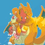 charizard charmander male nintendo pokemon