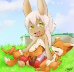 adult anthro feral fox furry made_in_abyss nanachi narehate vixen