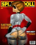 ass elastigirl gloves helen_parr mask the_incredibles thighs torn_clothes