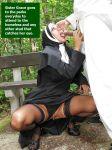 caption fellatio nun oral public public_sex