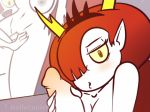 1girl gif handjob hekapoo melieconiek red_hair selfcest sex star_vs_the_forces_of_evil tagme