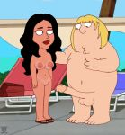bouncing breasts chris_griffin family_guy funny gif guido_l isabella outside