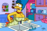 big_breasts gif marge_simpson tagme the_simpsons