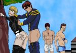4_humans 4boys 4males alex_summers anus anus_fucking ass brothers butt cyclops_(character) cyclops_(x-men) erect_penis erection gambit gay half-dressed half_naked half_nude havok incest male marvel marvel_comics multiple_boys multiple_humans penetration penis remy_lebeau scott_summers sex x-men yaoi younger_brother