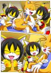 """happai_birthday honey_the_cat miles_""""tails""""_prower mobius_unleashed palcomix"""