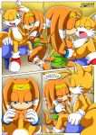 """happai_birthday miles_""""tails""""_prower mobius_unleashed palcomix tikal_the_echidna"""