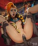 breasts clit clitoris cum cum_in_pussy cum_inside grownupjizz jinx_(league_of_legends) league_of_legends lips lipstick nipples open_mouth penis pussy tagme tattoo vaginal vaginal_juices vaginal_penetration