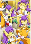 """happai_birthday miles_""""tails""""_prower mina_mongoose mobius_unleashed palcomix"""