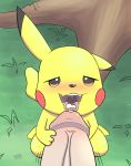 cum cum_in_mouth drinking_cum eating_cum fellatio gay human human/pokemon male nintendo oral pikachu pokemon pokemon_(anime) pokephilia sex