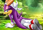 1girl ass blue_eyes mobius_unleashed palcomix sega sonic_(series) sonic_riders wave_the_swallow