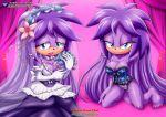 bbmbbf big_breasts feet gala-na mobius_unleashed sega sega sonic_the_hedgehog wedding_dress