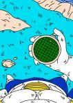 blue_hair breasts bulma_brief dragon_ball_z gif nude pussy radar vegeta
