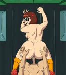 1boy 1girl ass doggy_position from_behind gif glasses hands_on_ass male/female nude scooby-doo shaved_pussy sideboob thighs vaginal vaginal_penetration vaginal_sex velma_dinkley