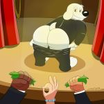 ass ass brian_griffin dog family_guy mooning