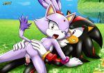 blaze_the_cat mobius_unleashed palcomix riding sega sega shadow_the_hedgehog