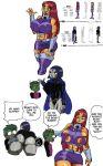 beast_boy comic dc_comics doompypomp raven_(dc) starfire tagme teen_titans
