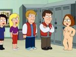 breasts family_guy glasses hand_on_hip meg_griffin nipples nude shaved_pussy