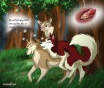 aleu animal_sex balto comic jenna kodi lonewolf wolf