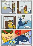 bowser bowser_jr comic digimon flamedramon koopa