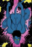1boy christian male male_only marvel muscle nightcrawler nude solo x-men yaoi