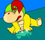 bowser_jr koopa nintendo super_mario_bros.